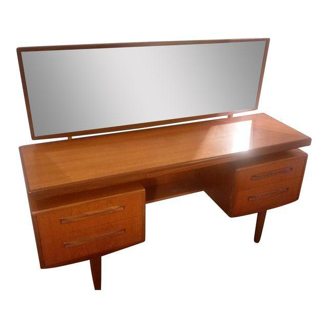 mid century vanity table