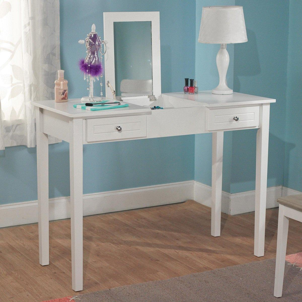 vanity desk combo