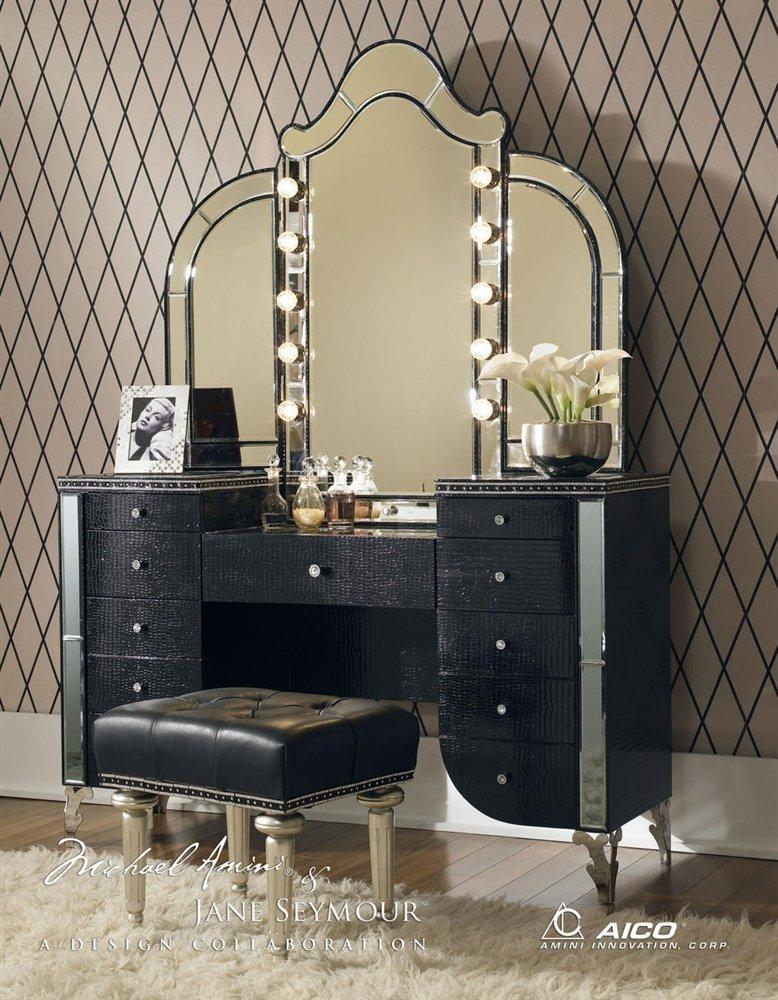 Hollywood Style Vanity Table