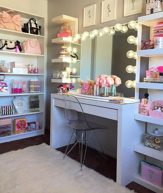 makeup room ideas