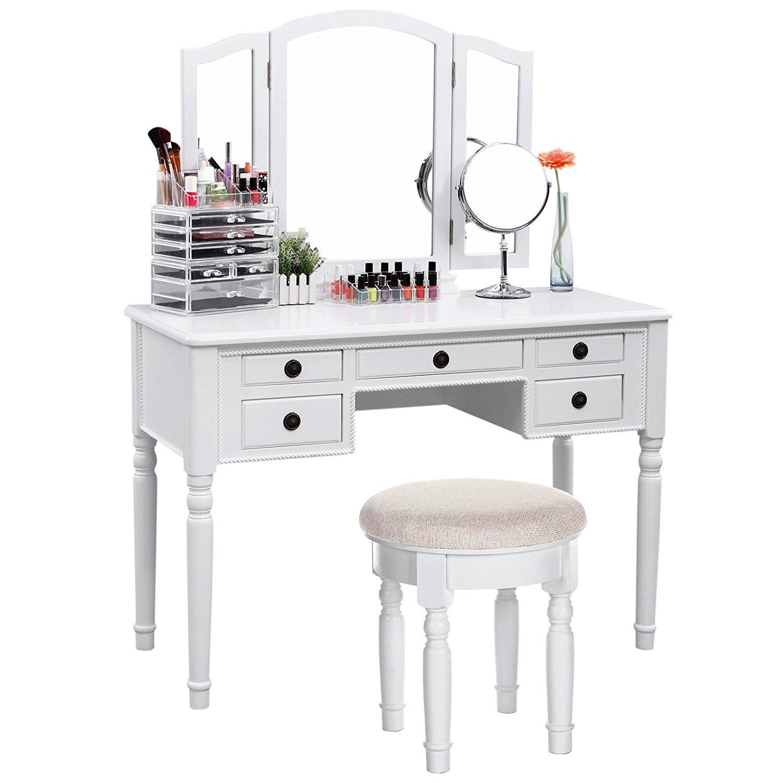 modern vintage vanity