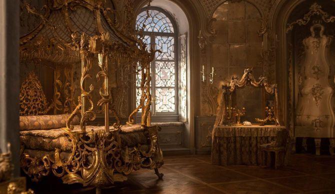 Belle's Rococo Bedroom