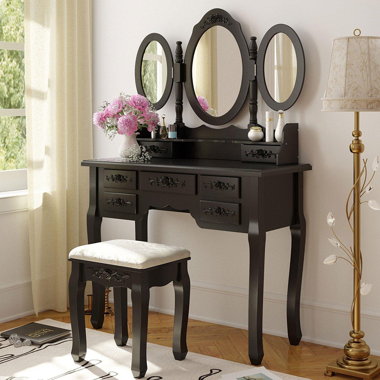 modern french vanity
