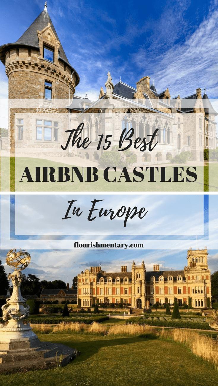 best airbnb castles europe