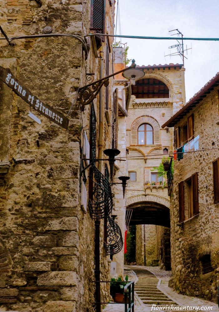 Streets Of Narni Italy