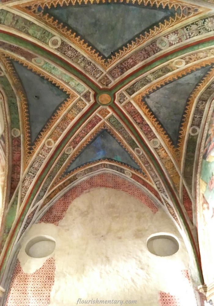 narni italy fresco