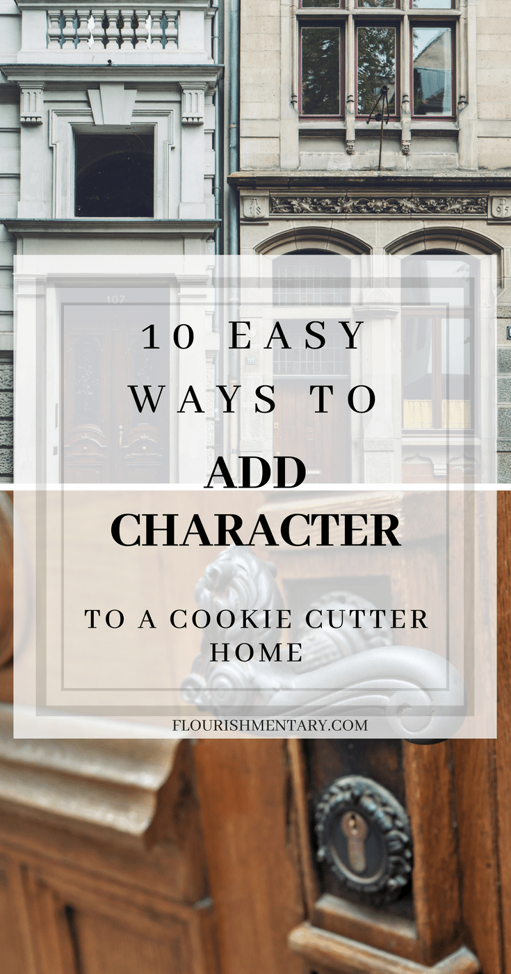 ways to add character to home