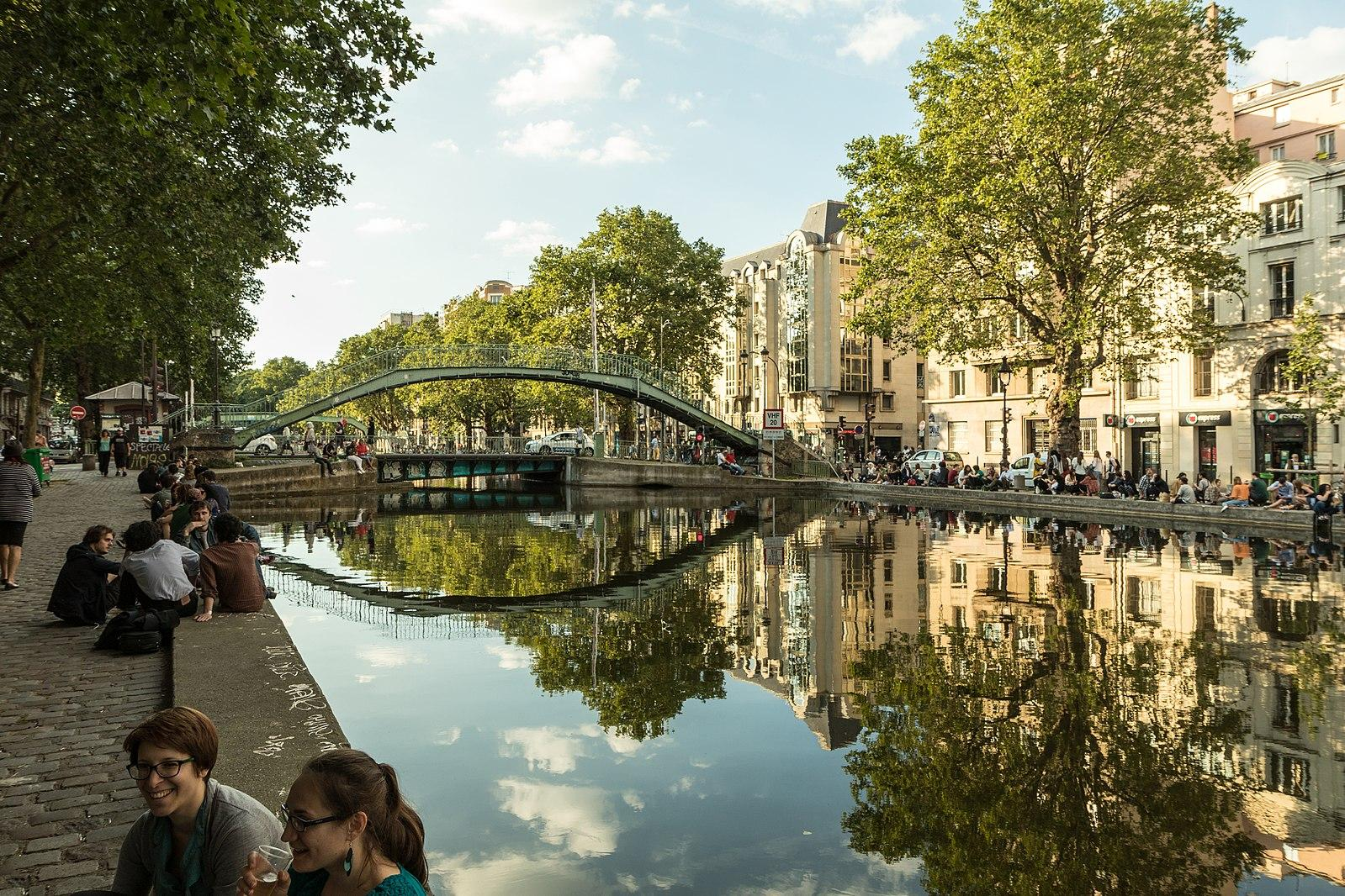 Canal St Martin things to do in paris