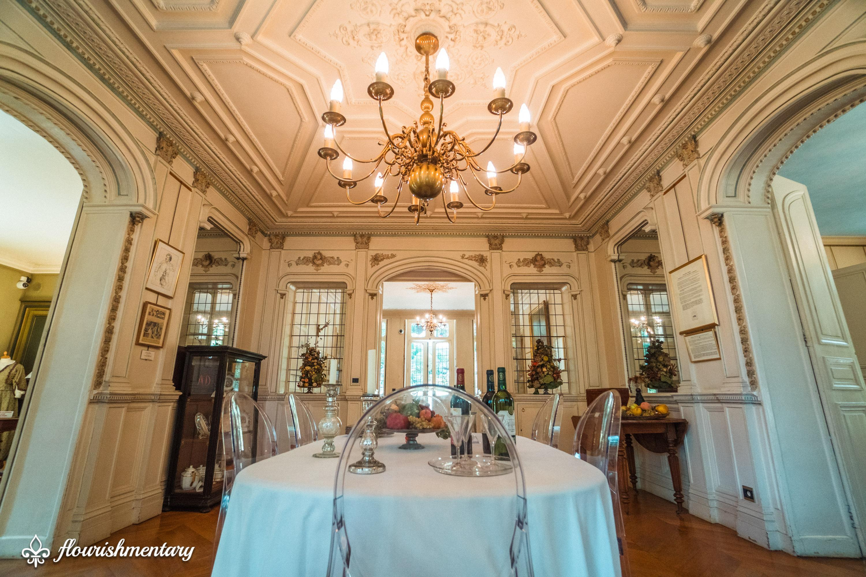 The Dining Room In The Chateau Of Monte Cristo