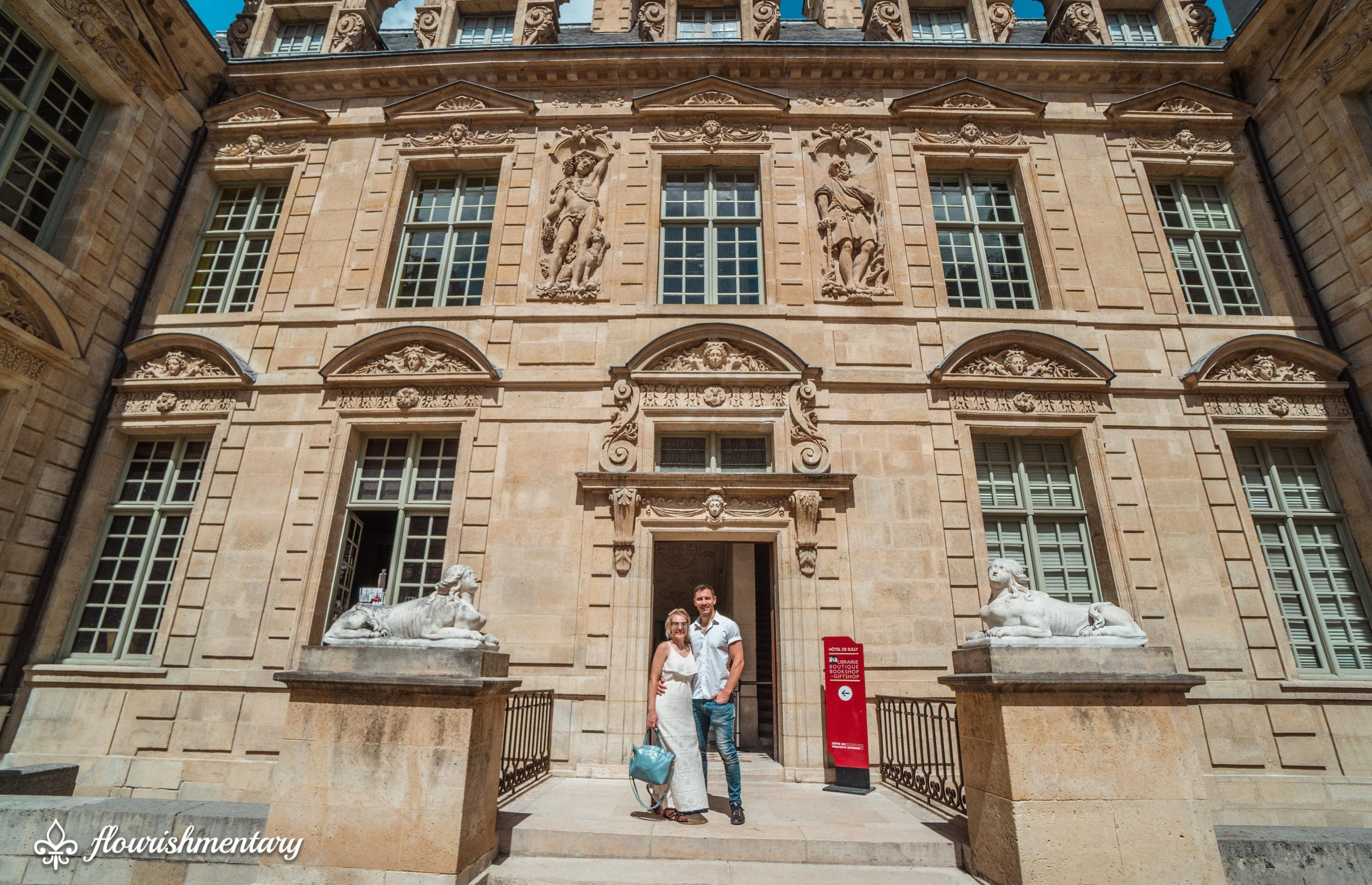 the Hôtel de Sully