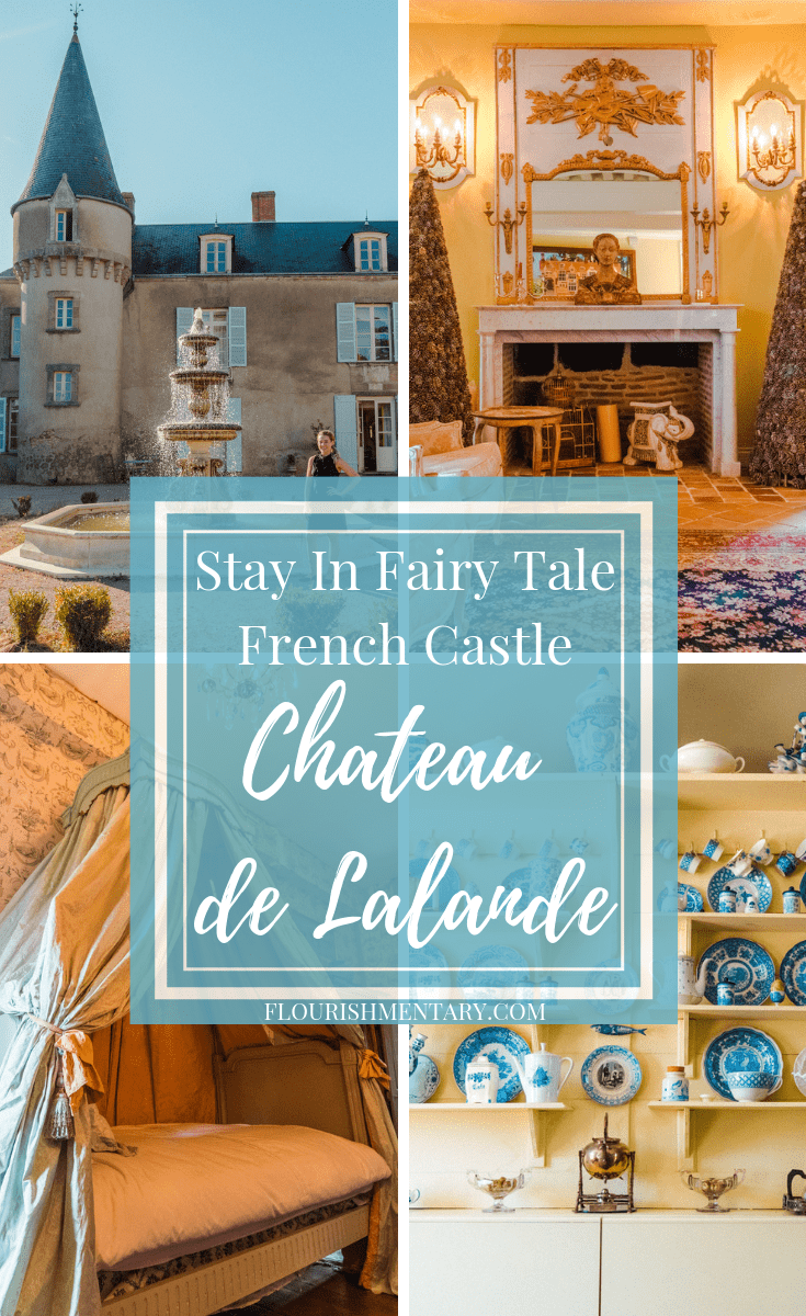 wonder what it's like to live in a castle restored french chateau de lalande