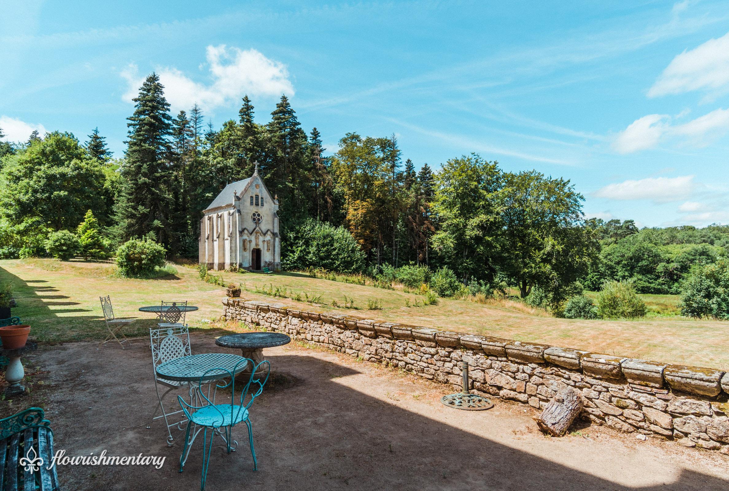the chapel chateau de lalande
