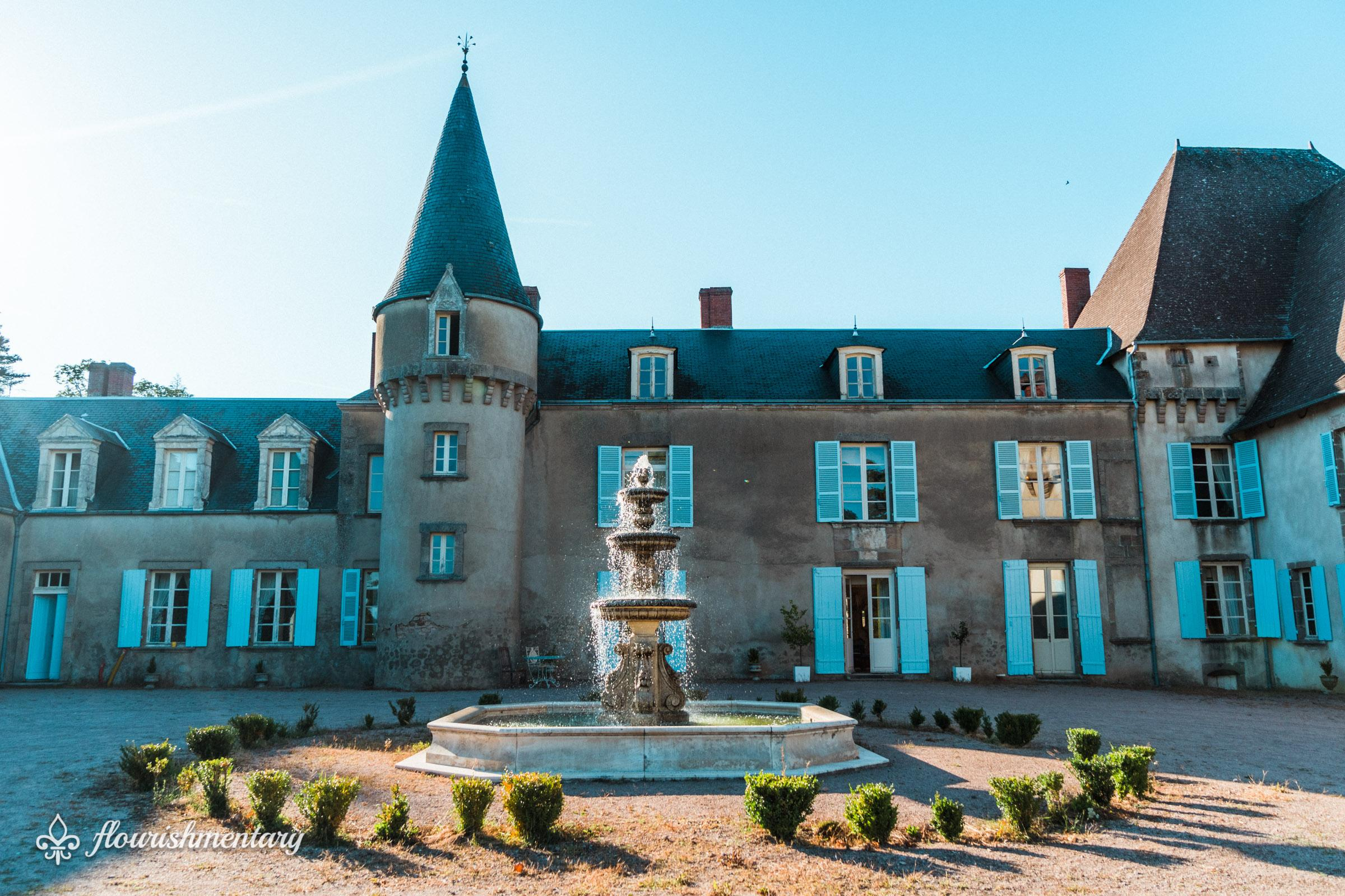 chateau de lalande fountain