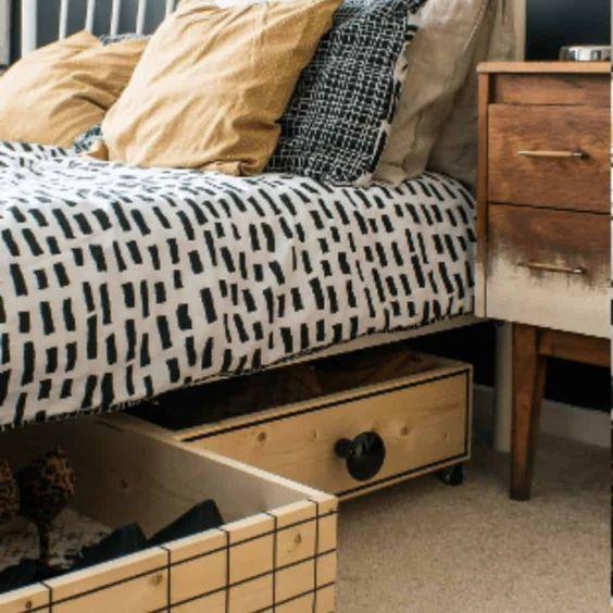 storage bedding