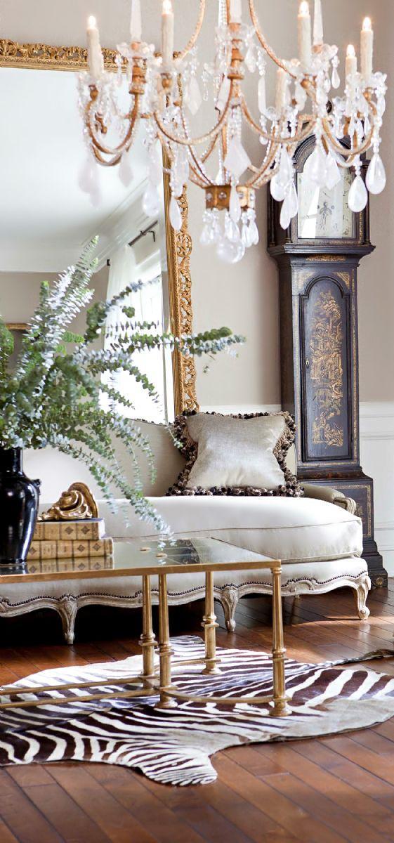 living room vintage decor
