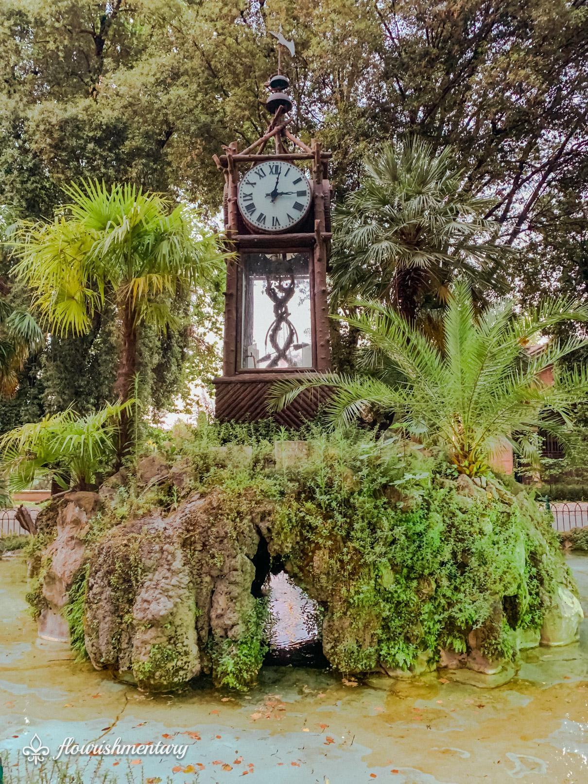 Villa Borghese Gardens Hydrochronometer