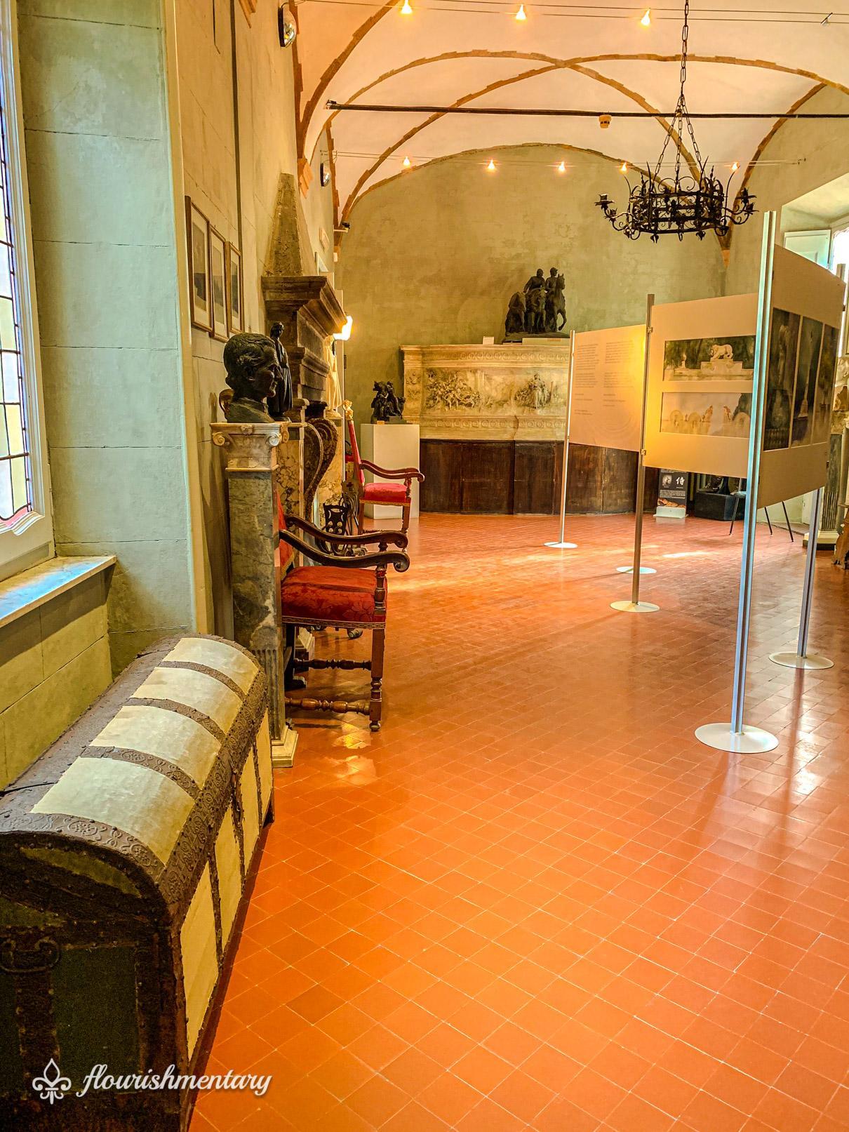 Museo Pietro Canonica exhibits villa borghese gardens