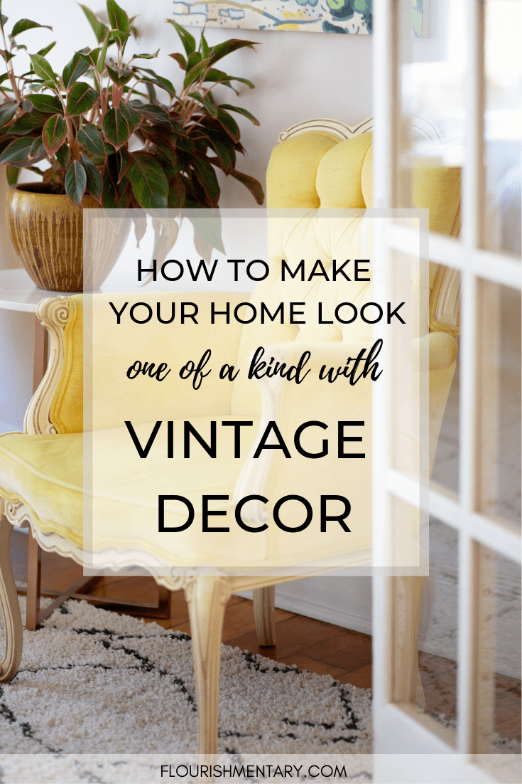 Vintage Decor Ideas To Give Your Home More Charm