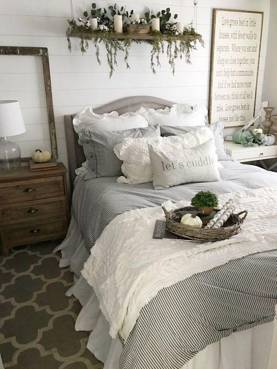 ruffle vintage bedding