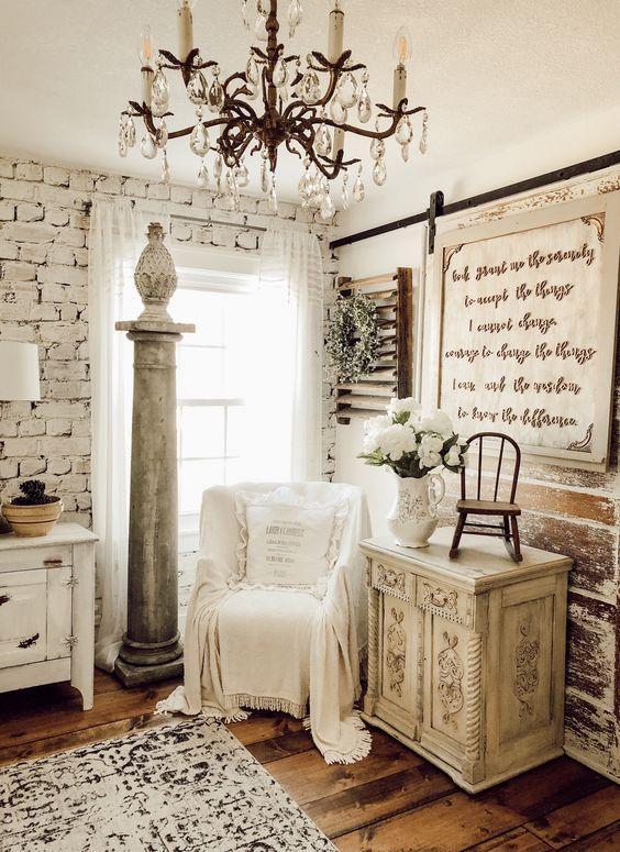 vintage bedroom lighting