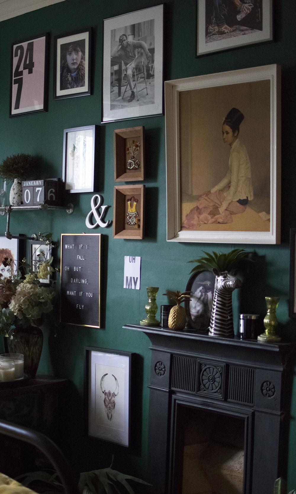 wall art vintage decor