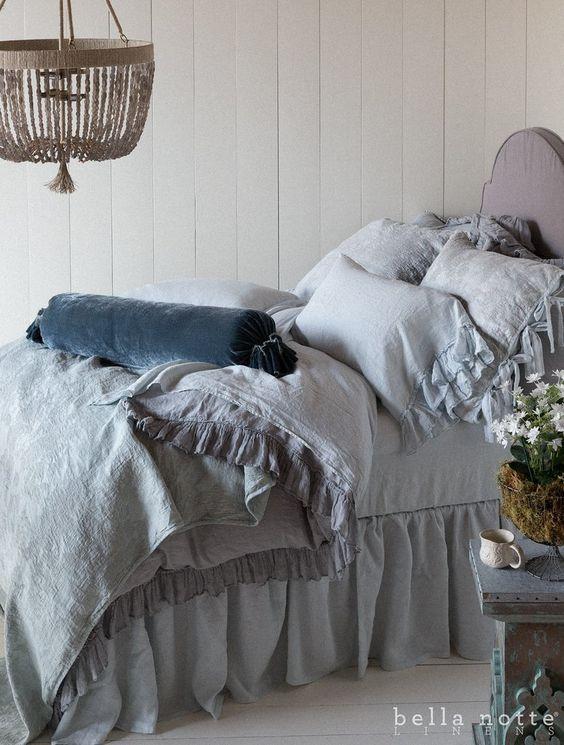 vintage bed linens