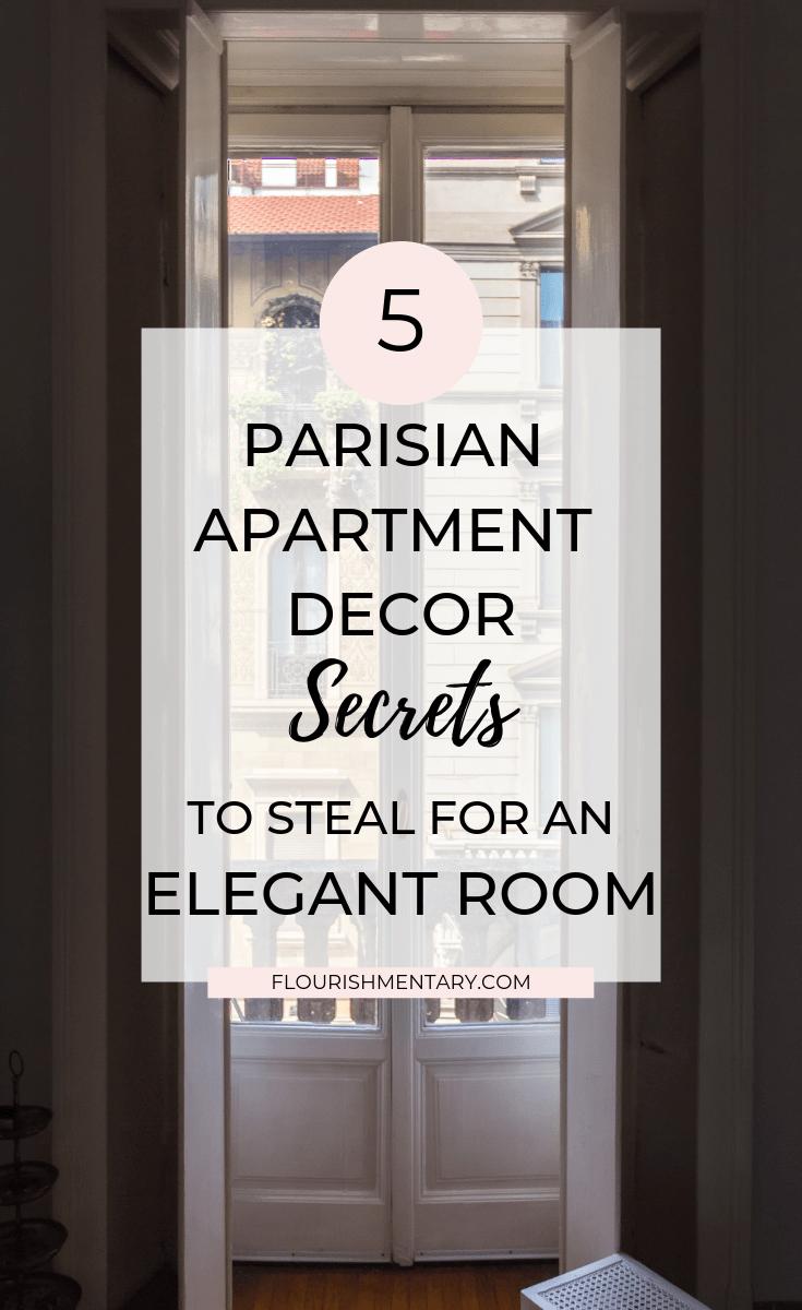 5 parisian apartment decor secrets
