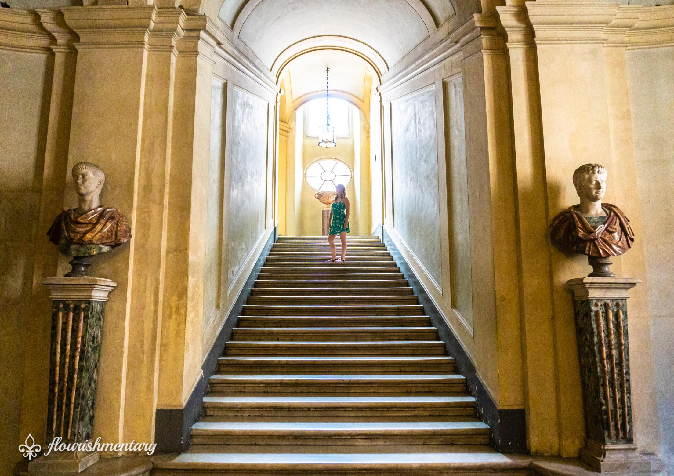 the entryway Doria Pamphilj gallery