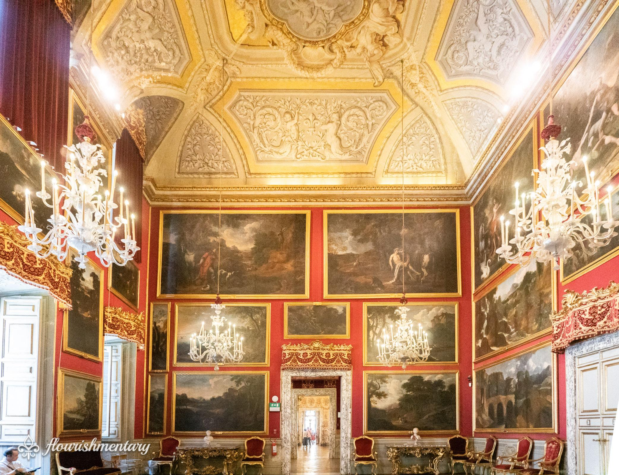 Sala del Pussino Galleria Doria Pamphilj