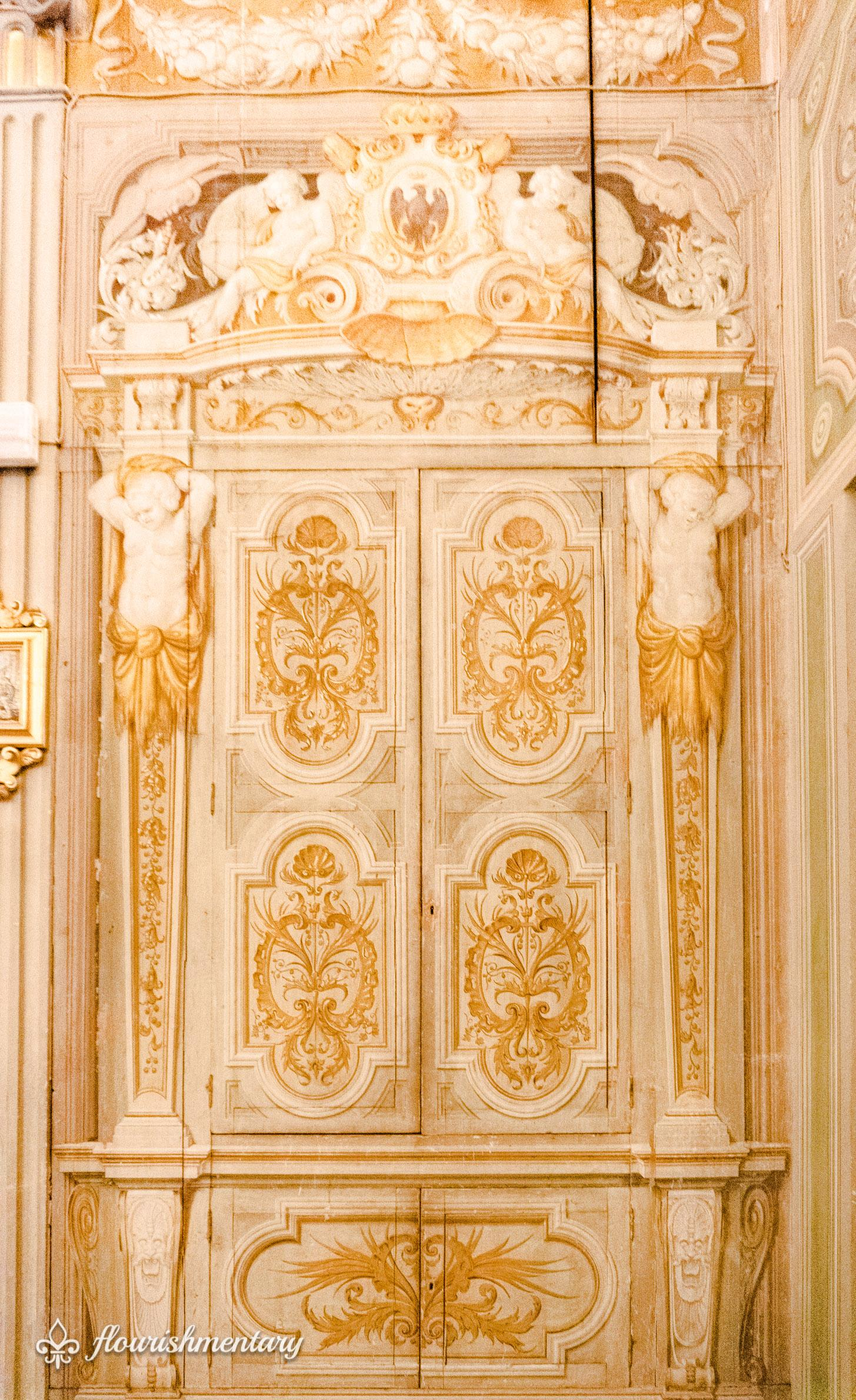 Decorative details of the family chapel Galleria Doria Pamphilj