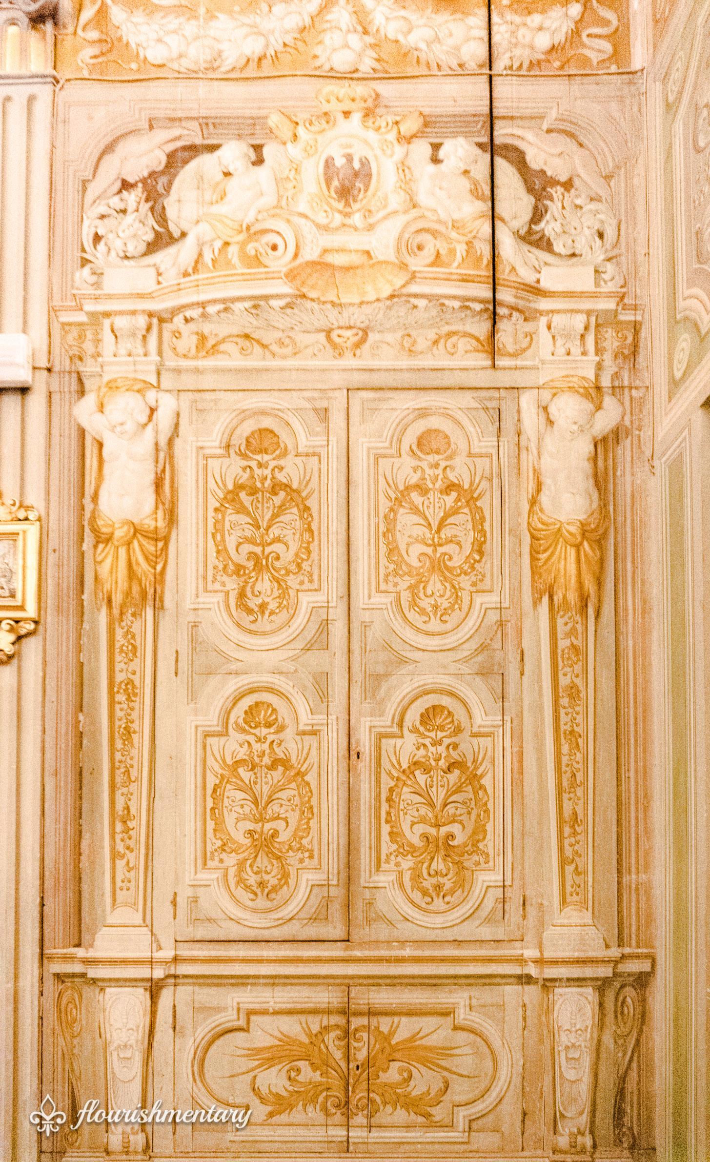 Decorative details of the family chapel Galleria Doria Pamphilj