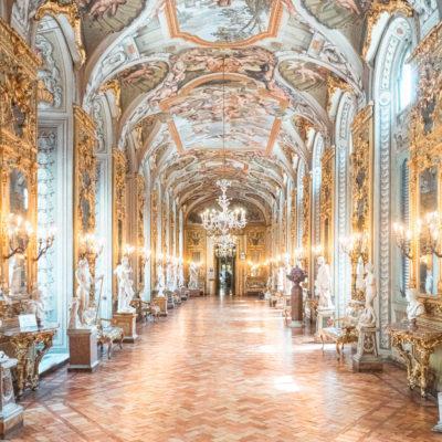 galleria doria pamphilj rome hall of mirrors