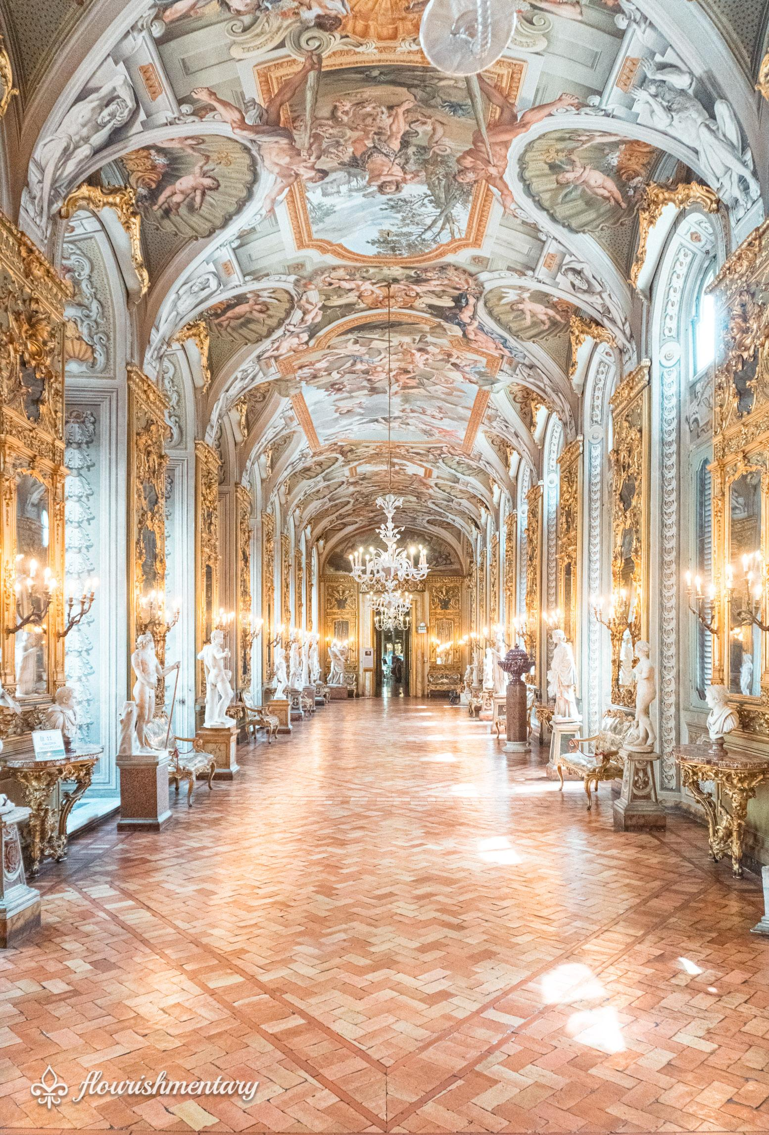 Galleria Doria Pamphilj hall of mirrors