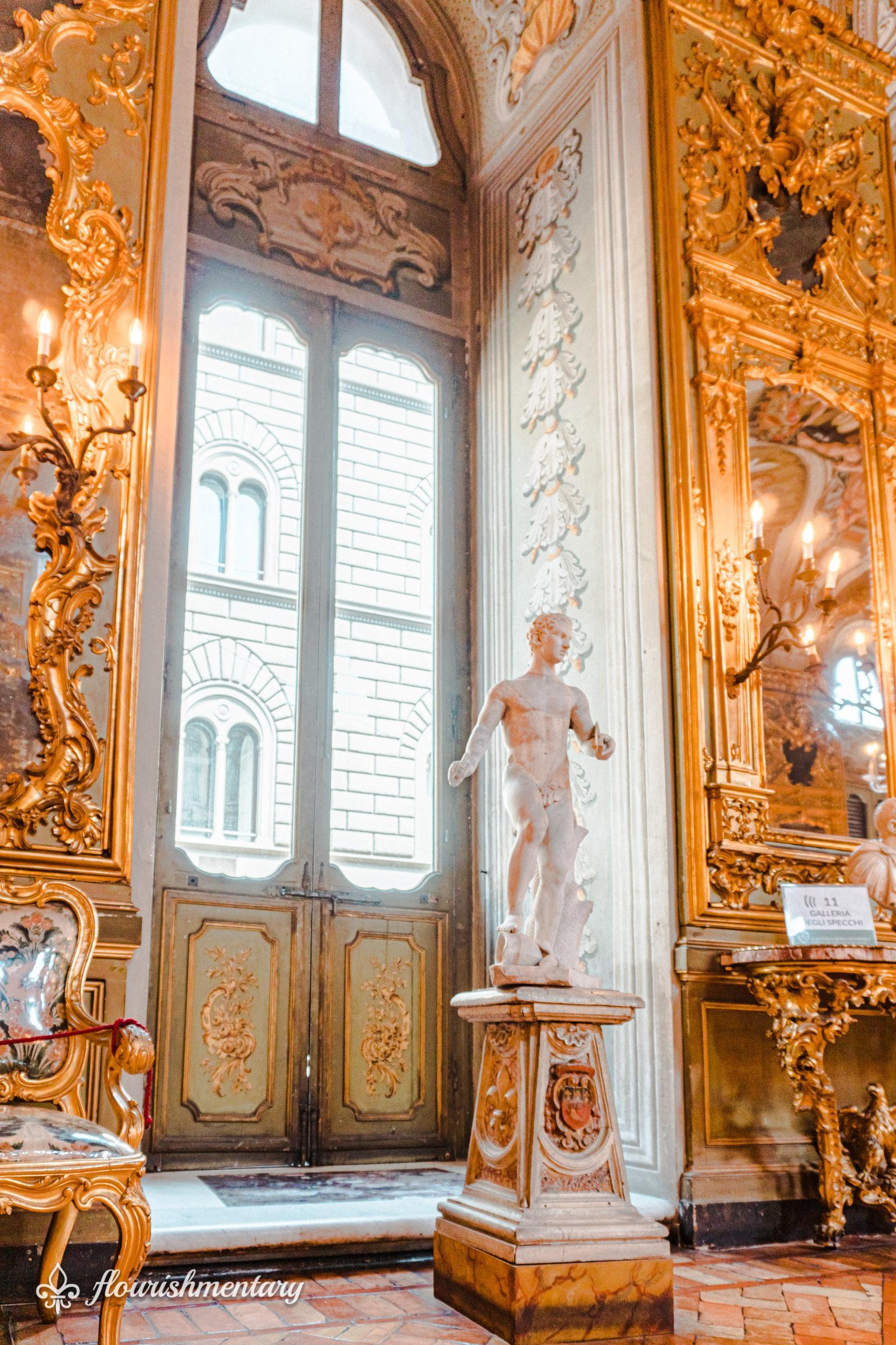 hall of mirrors galleria doria pamphilj