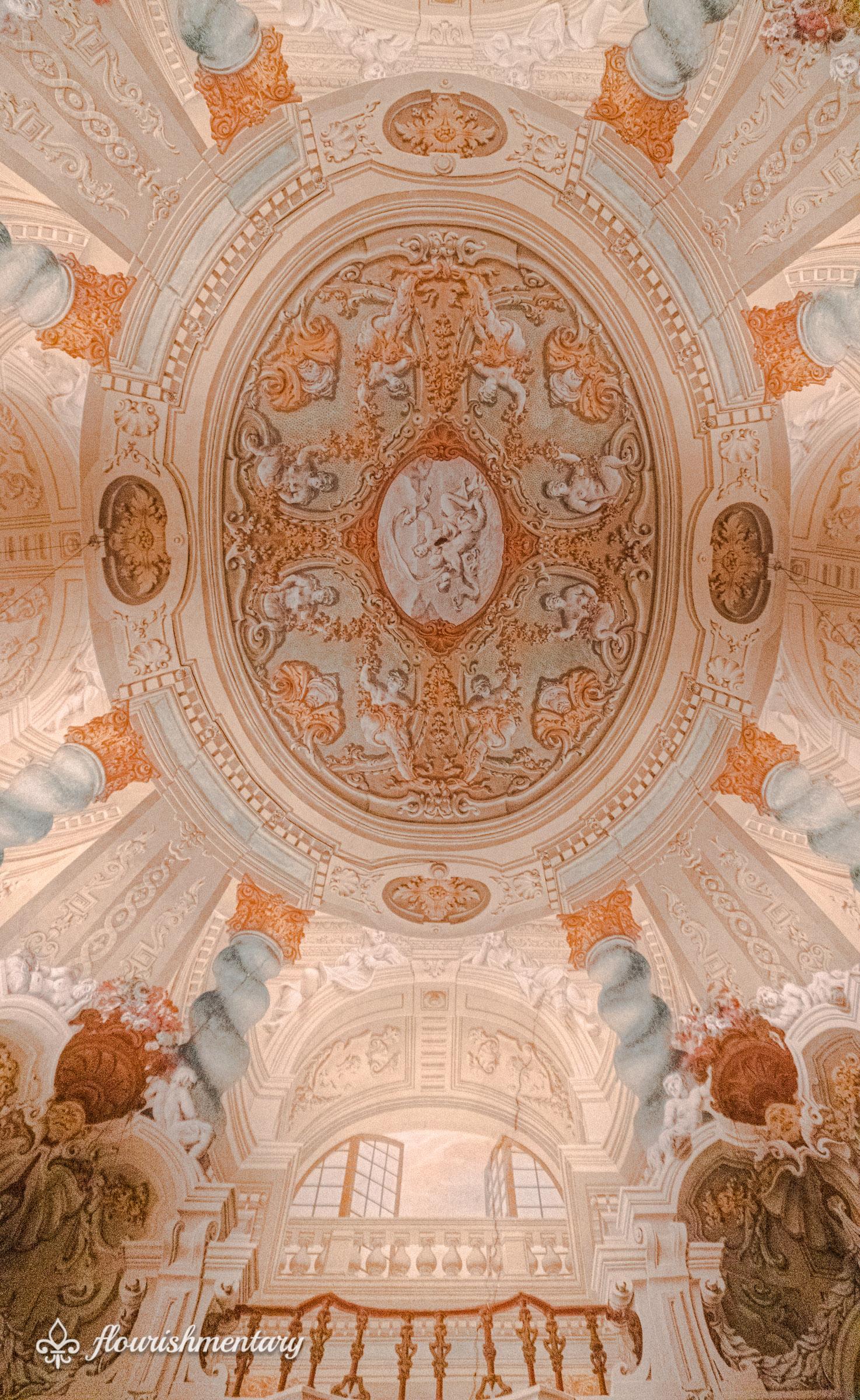 Galleria Doria Pamphilj fresco