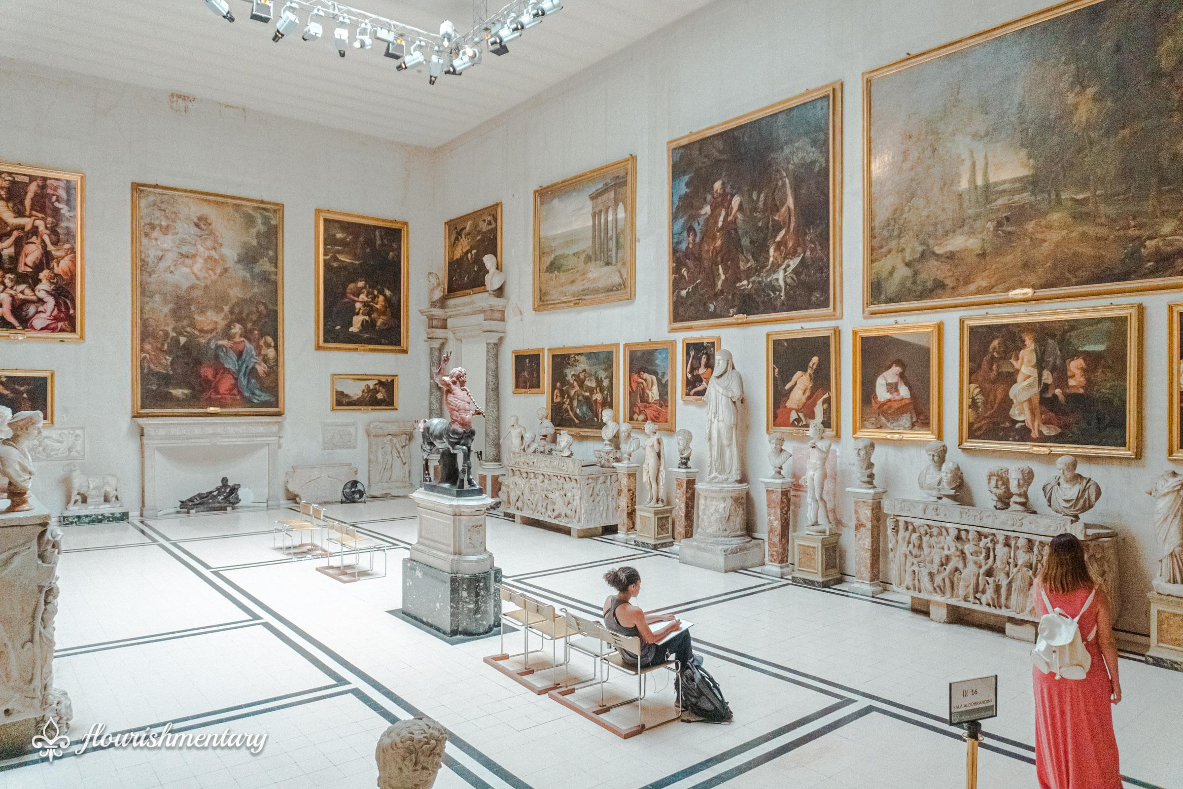 Galleria Doria Pamphilj Aldobrandini Room