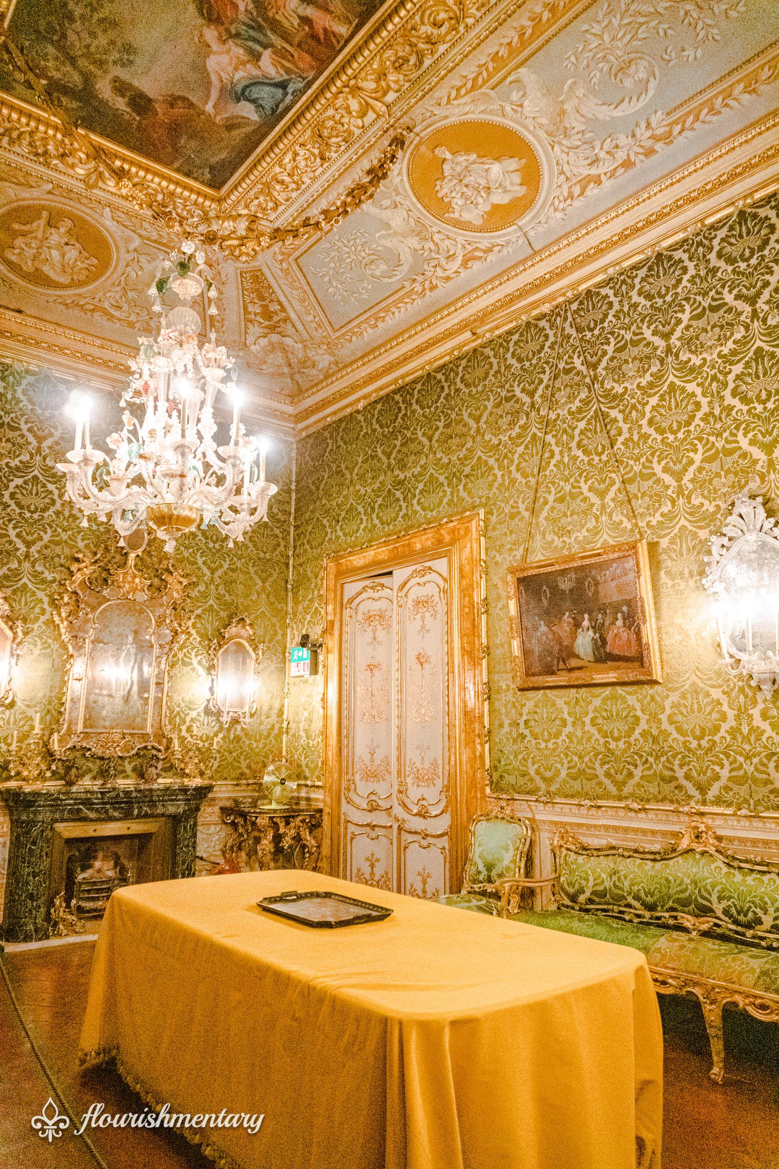The Venetian Room galleria doria pamphilj