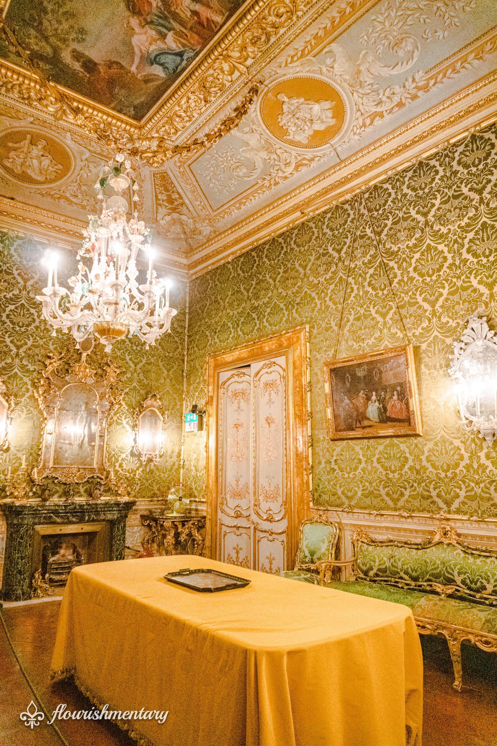 The Venetian Room galleria doria pamphilj