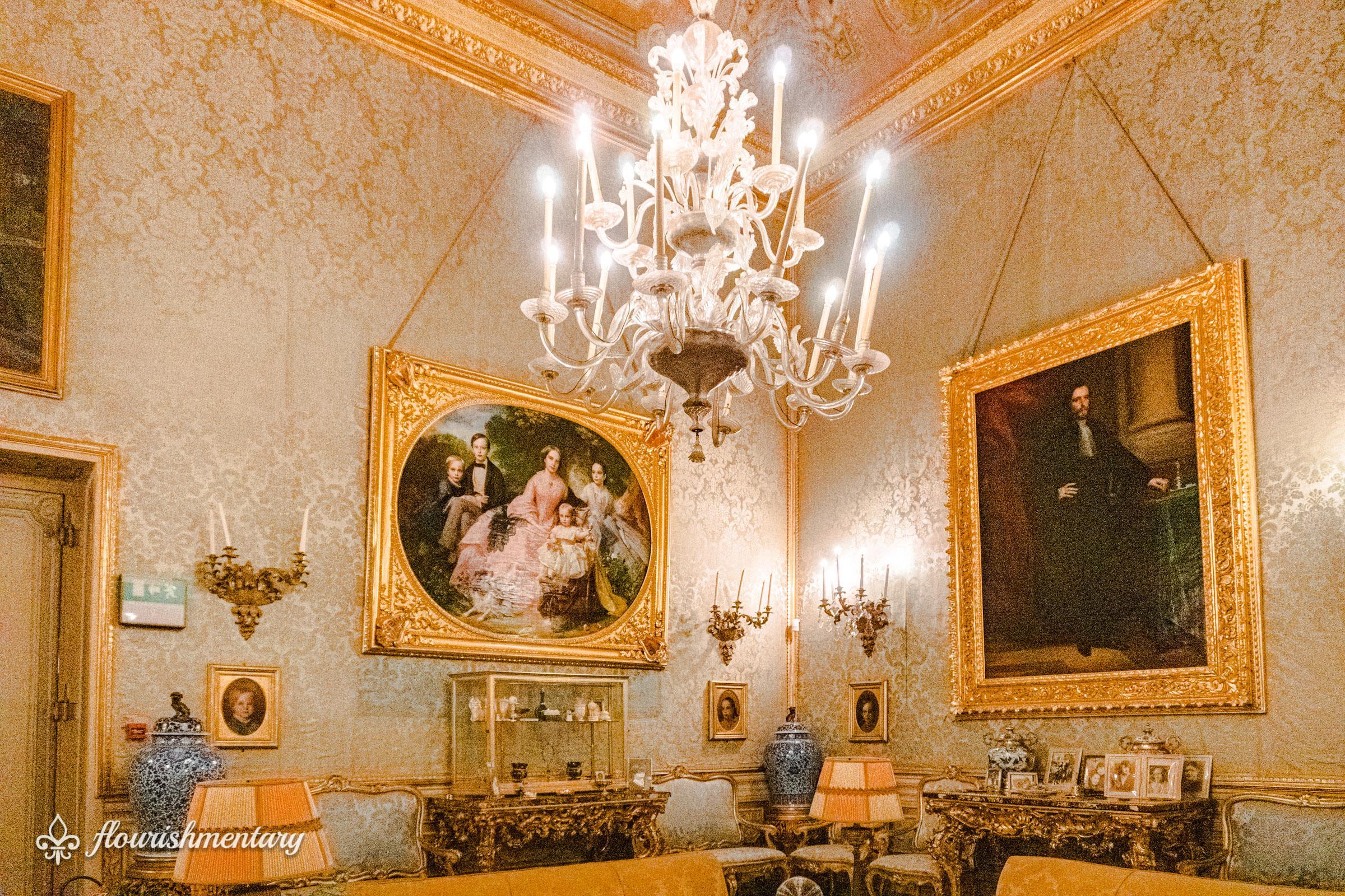 The Blue Room galleria doria pamphilj