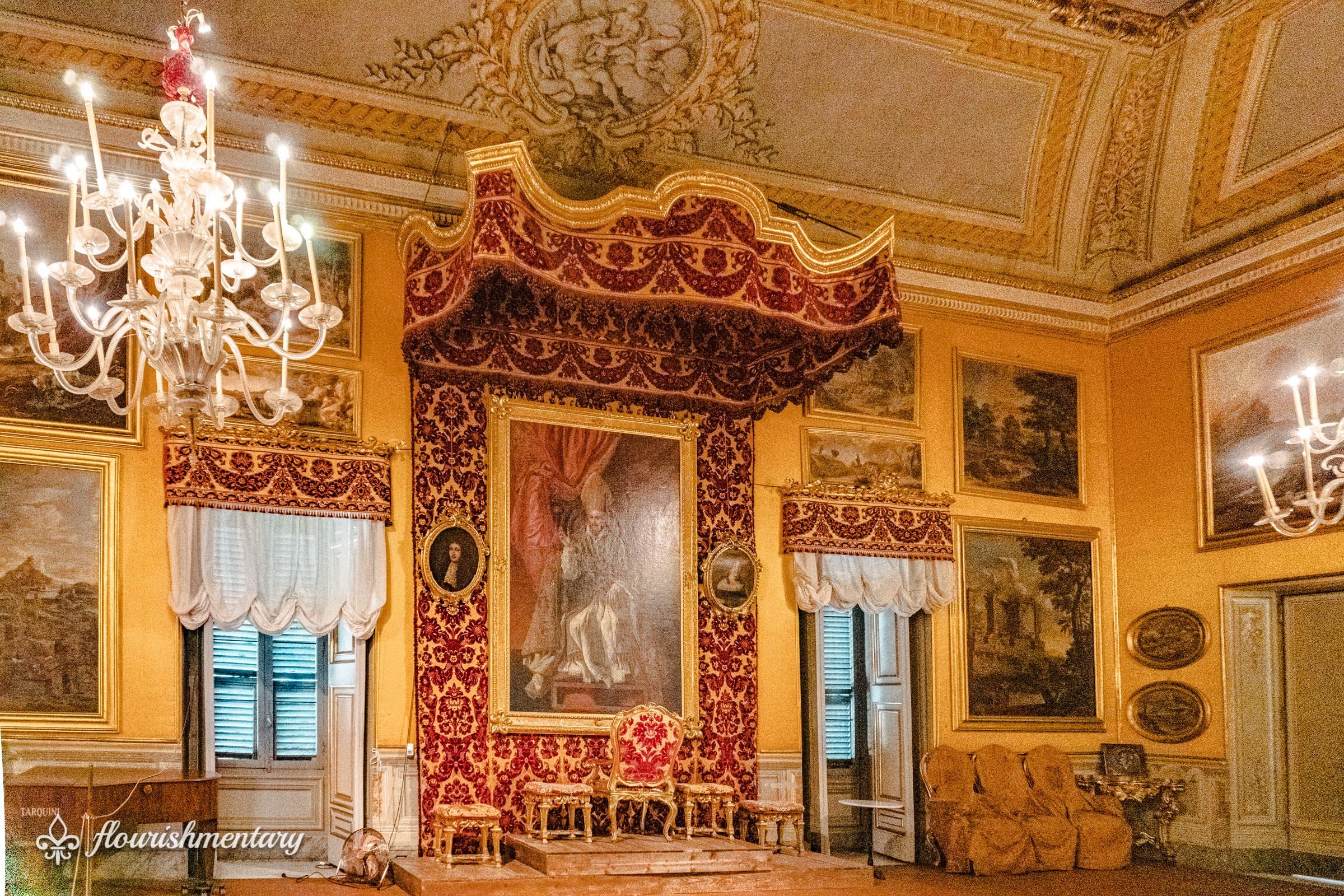 The Throne room Galleria Doria Pamphilj