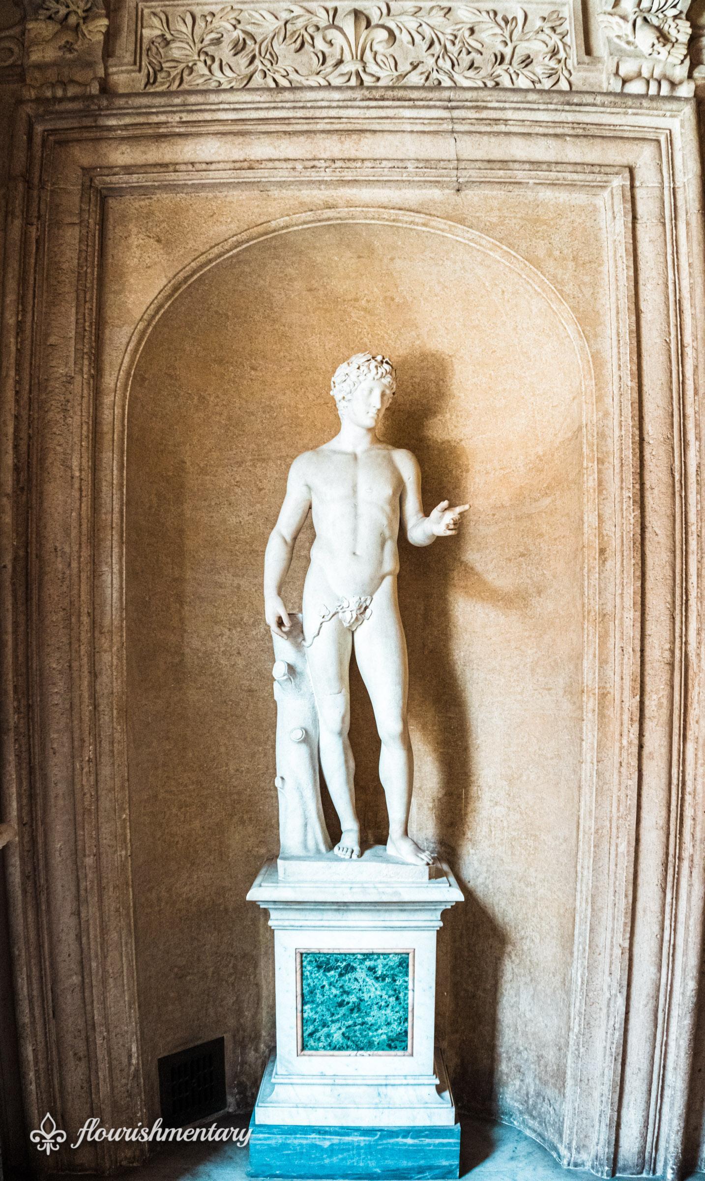 Galleria Doria Pamphilj statue