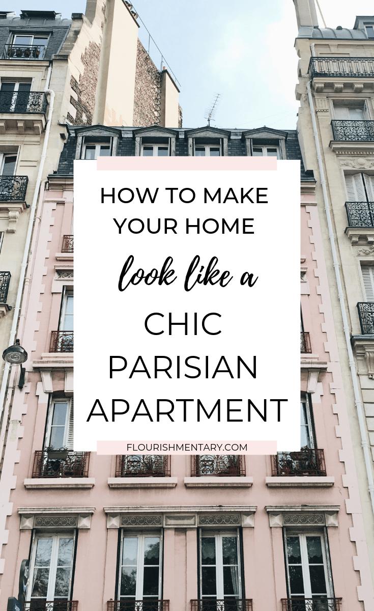chic parisian apartment decor ideas