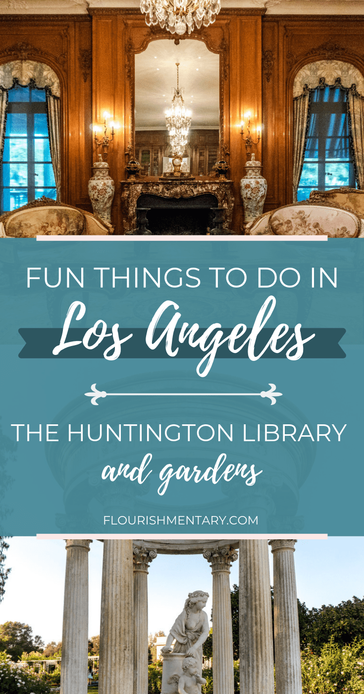 the huntington library and gardens