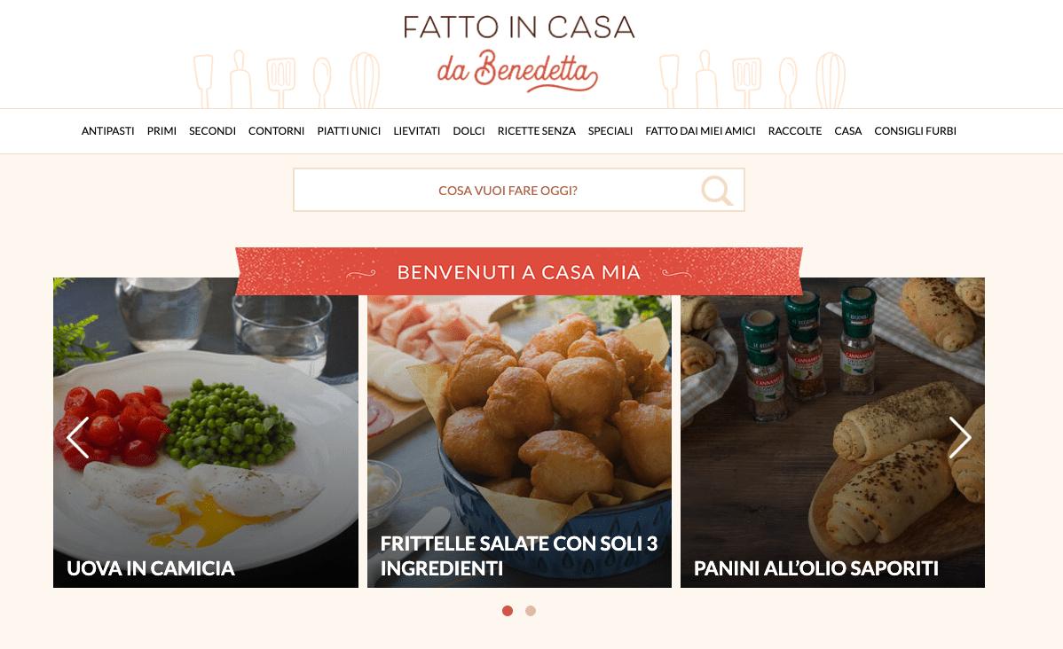 """Lots of Italian recipe ideas on """"Fatto In Casa Da Benedetta"""""""