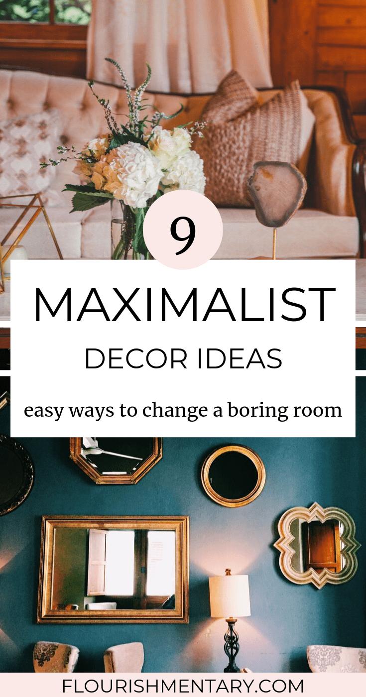 maximalist decor ideas