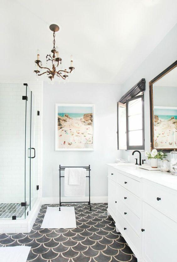 luxury bathroom wall decor