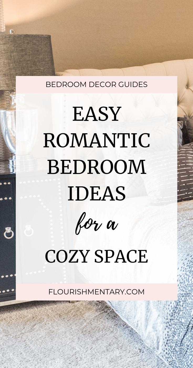 easy romantic bedroom ideas
