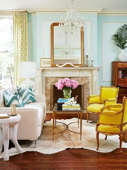 traditional living room decor color