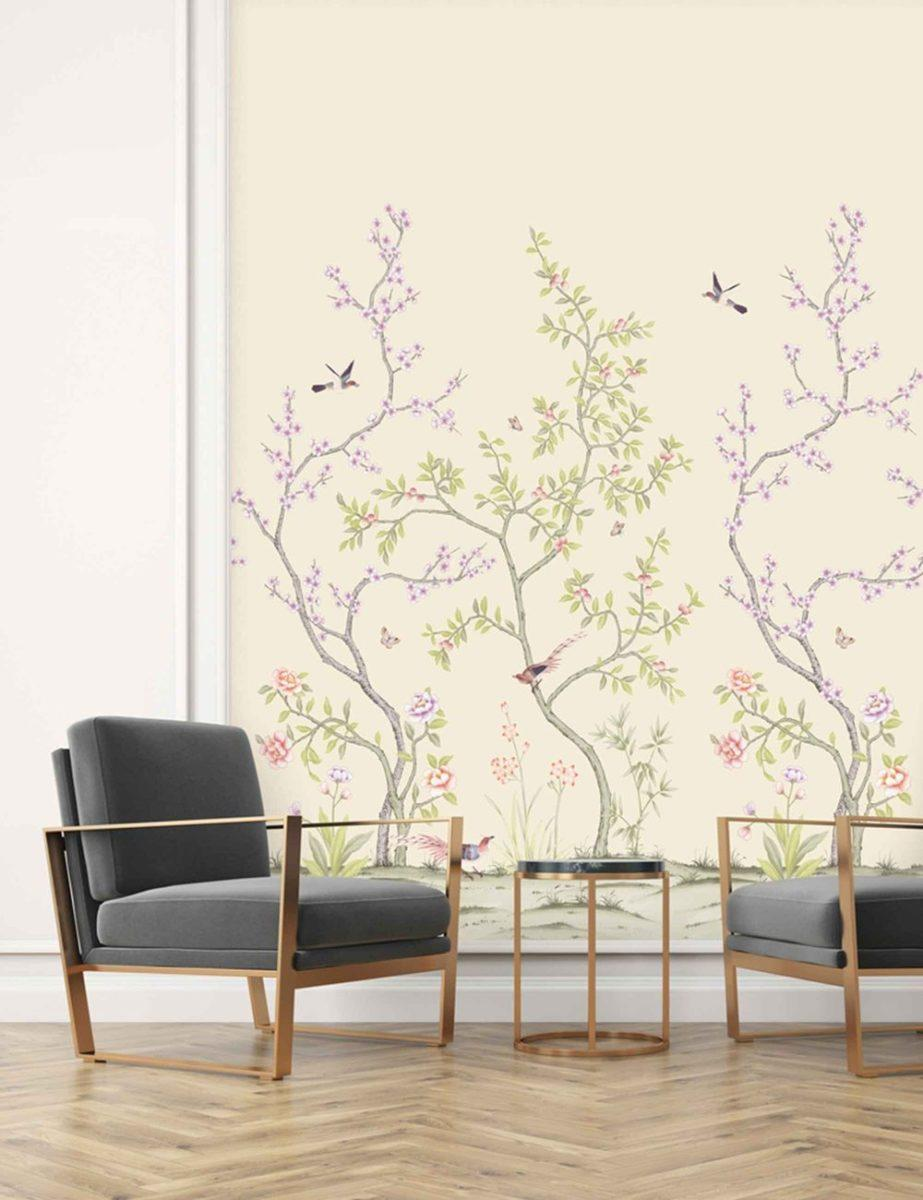 Chinoiserie Removable Wallpaper Mural
