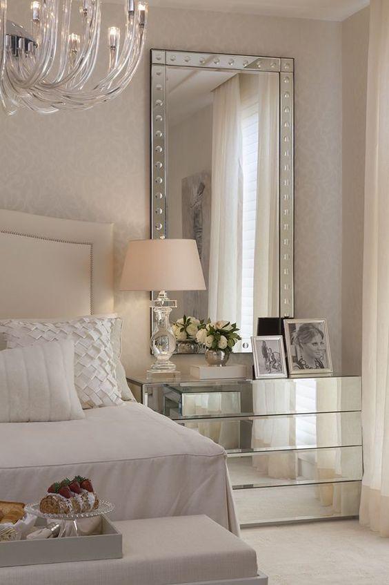 bedroom large mirror